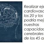 El ejercicio cardiovascular mejora tu capacidad cerebral después de los 45 años