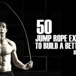 50 ejercicios diferentes saltando la cuerda