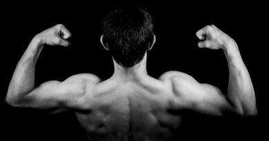 Ejercicios con peso corporal para la flacidez de los brazos